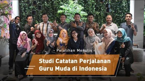 Embedded thumbnail for Pelatihan Menulis Studi Catatan Perjalanan Guru Muda di Indonesia