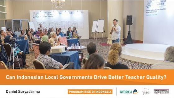 Embedded thumbnail for Education Policymaking and Learning Outcomes in Indonesia's Districts