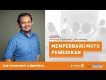 Embedded thumbnail for Memperbaiki Mutu Pendidikan   Wawancara dengan Luhur Bima di Idola FM