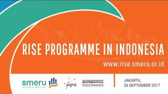 Embedded thumbnail for Peluncuran Program RISE di Indonesia