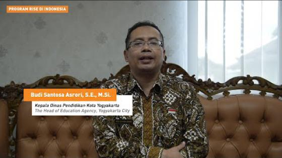 Embedded thumbnail for Penelitian sebagai Referensi dalam Pengambilan Kebijakan - Kadisdik Kota Yogyakarta