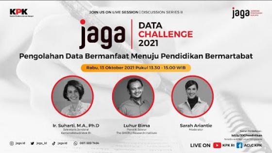 Embedded thumbnail for JAGA Data Challenge: Discussion Series II - Sektor Pendidikan